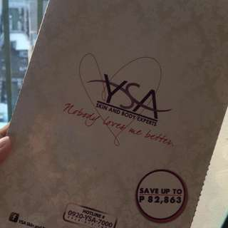 Discount Coupon YSA Skin and Body Experts