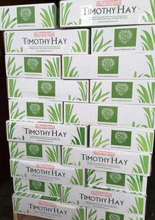 Pets' Gantry-New stocks of Small Pet Select Timothy Hay Perfect Blend 5lb