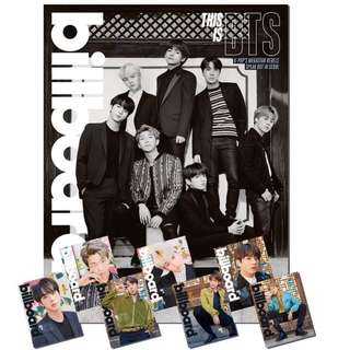[Free Postage] Loose BTS x Billboard Limited Edition Magazine + Poster