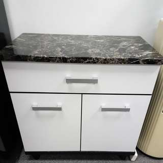 Cabinet with Marble Top