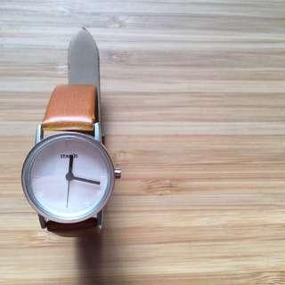 Starus, Small Dial Korean Fashion Watch [Brown]