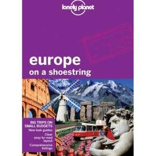 Lonely Planet Europe on a Shoestring 7th Ed.: 7th Edition by Tom Masters (Oct 4 2011)