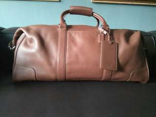 Original Coach Travel Bag.