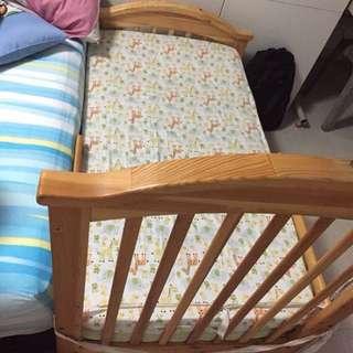 Rocio baby cot convertible kid bed 4-1