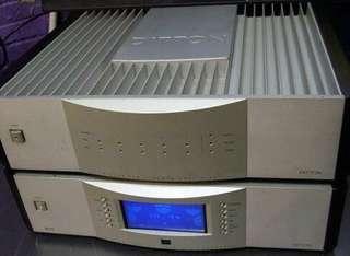 DITTON DCA-5 DDP-5.1 USED AV PRE+POWER Amp