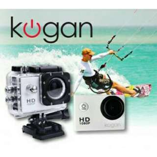 Action camera kogan 1080HD p quality jernih 900mah
