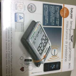 Beurer blood pressure monitor BC85 brand new sealed