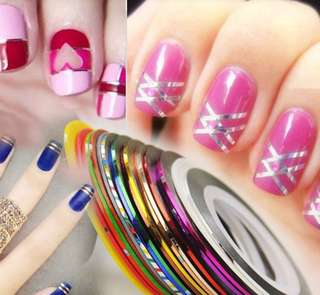 Sticker NailsRolls Striping Tape