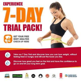 7 DAY WEIGHT LOSS PROGRAMME