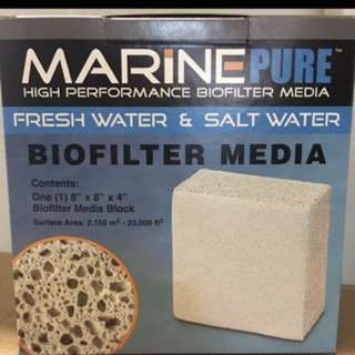 Brand New Marine pure bio filter media 8x8x4""