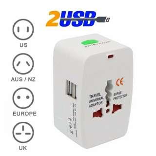 Universal adaptor 2 USB