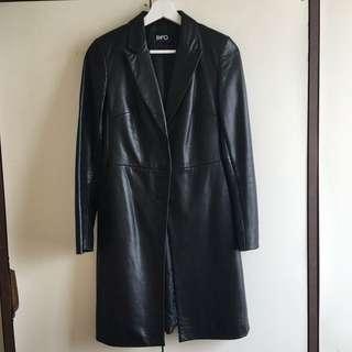 Lamb leather jacket 羊皮/真皮女裝長褸