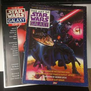art of star wars galaxy volume 1 and 2