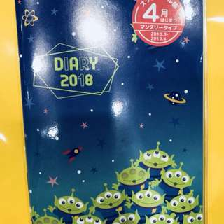 toy story schedule book#三眼仔 #disney #2018