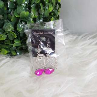 JUAL RUGI NEW anting pink
