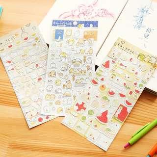 Sumikko Gurashi Stickers Preorder