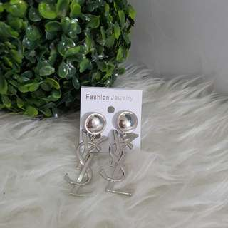 JUAL RUGI NEW anting YSL silver