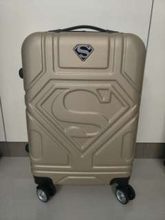 "Superman logo 20"" cabin luggage"