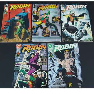 Robin (1991 Limited Series ) 1st Print (Complete Set of 5 Books) ICONIC!!