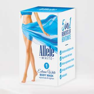 Allele White Extreme Body Mask