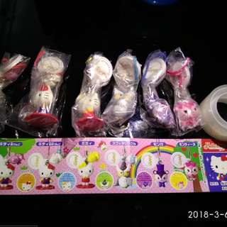 Hello Kitty & friends 手機繩全套