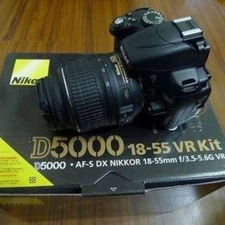 【出售】Nikon D5000 數位單眼相機 國祥公司貨