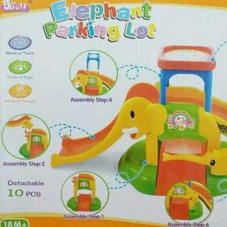 (可直接購買)大象軌道車滑梯組(奶粉贈品)