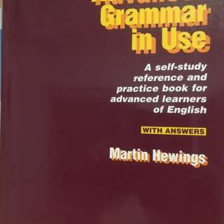 Advanced Grammar in Use (with answers)