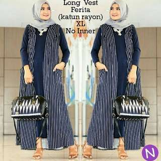 Long vest verita