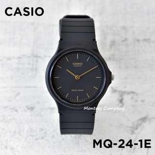 Montres Company香港註冊公司(25年老店) CASIO standard MQ-24 MQ-24-1 MQ-24-1E  九隻色都有有現貨 MQ24 MQ241 MQ241E