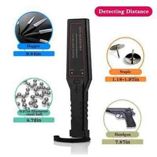 GC-1002 Handheld Metal Detector Safety Inspection Instrument Security Scanner  Approx.