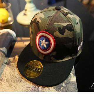 Captain America- army green hat