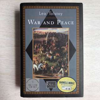 [Rare Edition] War and Peace - Leo Tolstoy (Preloved)