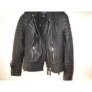 Genuine BODA leather jacket BNWOT 12