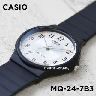 Montres Company香港註冊公司(25年老店) CASIO standard MQ-24 MQ-24-7 MQ-24-7B3 九隻色都有有現貨 MQ24 MQ247 MQ247B3