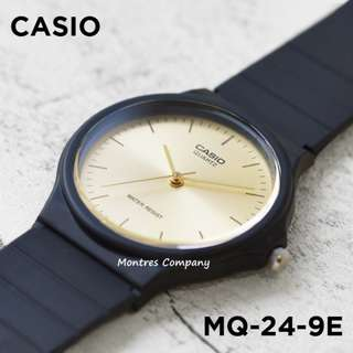 Montres Company香港註冊公司(25年老店) CASIO standard MQ-24 MQ-24-9 MQ-24-9E 九隻色都有有現貨 MQ24 MQ249 MQ249E