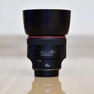 Canon 85 f1.2L II