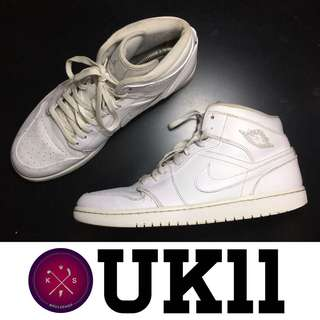 Nike Air Jordan 1 Mid used original bundle