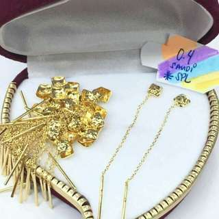 Sale! Limited time only 18k saudi gold