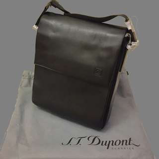 S.T.Dupont /ST Dupont- Message Shoulder Bag (斜孭袋)  (Leather)