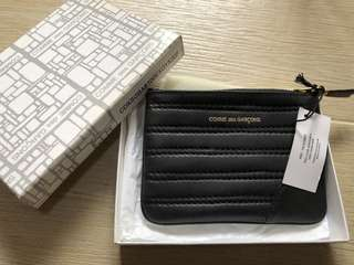 Comme des Garcons CDG Charcoal Grey Wallet
