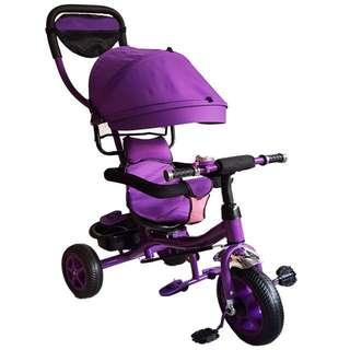 Violet Stroller Bike with Handle