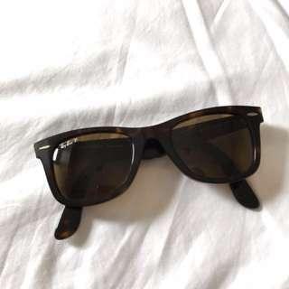 Rayban Wayfarer Brown Sunglasses Original
