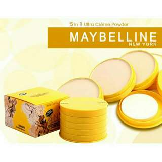 Maybelline 5n1 creme face powder