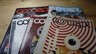 Concept Magazine (1 Set)