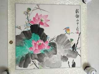Chinese Painting 国画斗方