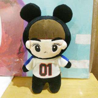 EXO SUHO JUNMYEON KINDLY DOLL SUHO MOUSE 15CM