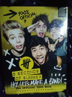 Hey, Let's Make A Band (The Official 5SOS Book)