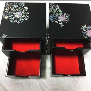 4 Drawer Jewellery Box
