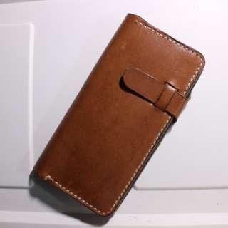 🔨100% Genuine Leather Customisable phone cases 簡約設計真牛皮手縫皮革電話保護套(可訂製,釘字)#生日禮物 #情人節禮物 #手作皮革